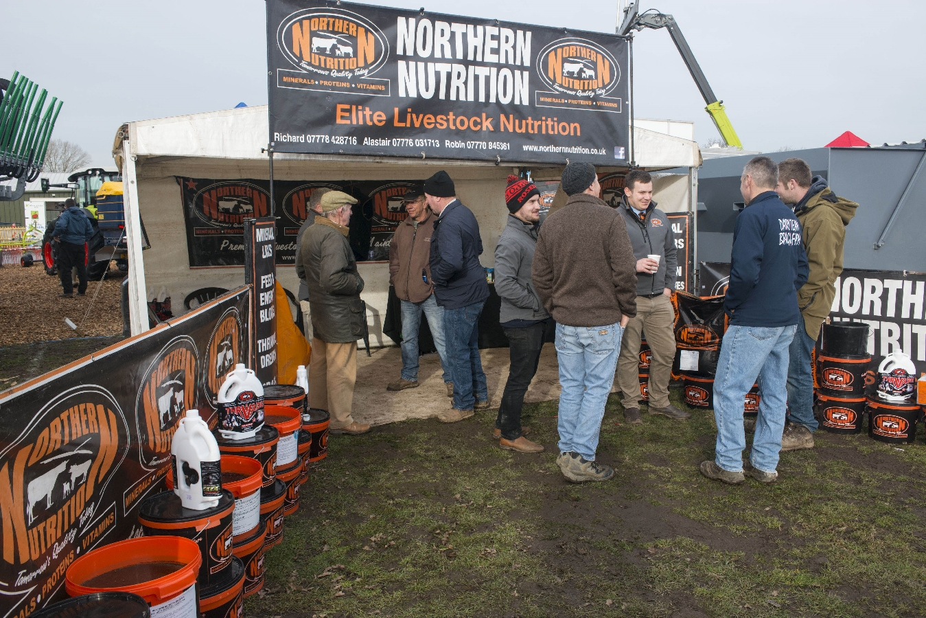 Y.A.M.S. 2019 Yorkshire agricultural machinery show at York auction centre